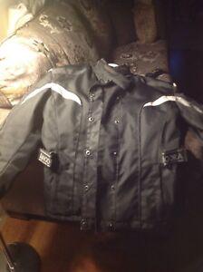Manteau de moto pour de femme ( angora )