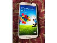 S4 white 16gb Unlocked and rooted