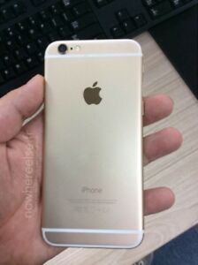 iphone 6 rogers/chat-r GOLD / DORÉ 16gb Great condition