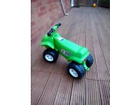 ELC Green Ride on Toy