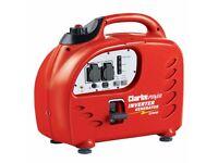 Clarke IG2200 2.2kW Inverter Generator - Excellent condition