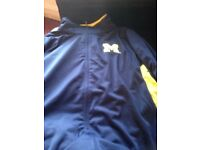 Men's XL Michigan wolverines track suit top