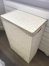 Wicker storage box from white company