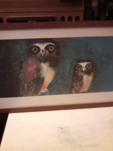 Four Brian Wildsmith framed prints