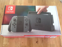 Nintendo Switch console - grey version - mint in box