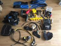 Full kit of SCUBA gear has had little use