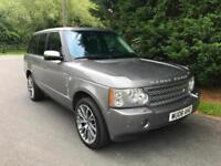 LHD 2008 LAND ROVER RANGE ROVER VOGUE 4.4 V8 PETROL 4X4 AUTOMATIC