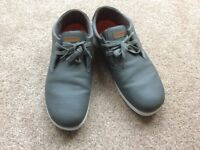 Men's casual grey shoes/trainers size 12