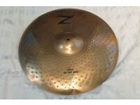 "1980's Zildjian 20"" LIGHT POWER RIDE Cymbal"