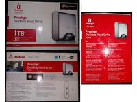 (Sealed/unopened iomega Prestige Hard Drive-1TB) - £35 - Price Negotiable