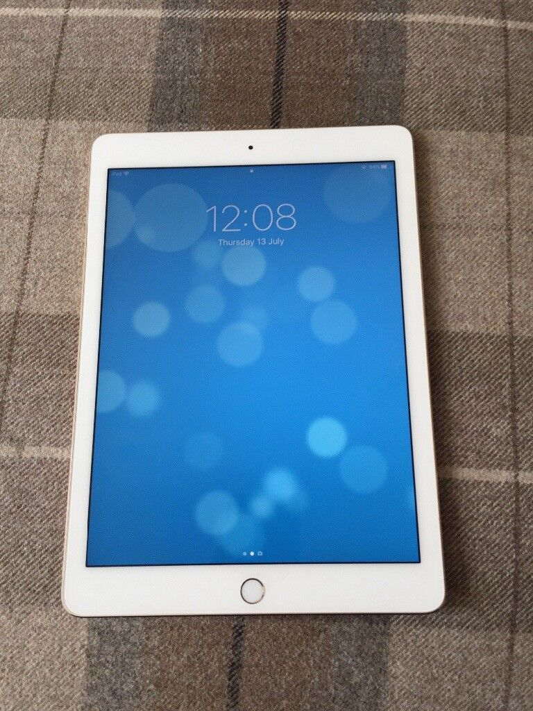 16GB Wifi Gold iPad Air. Almost brand new hardly used. Never been out of a case.