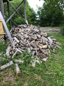 3 cords of 3 year old hardwood firewood - Very Dry