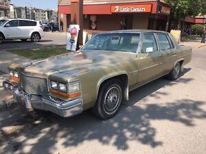 1980 Cadillac Sedan  DeVille