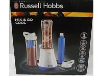 RUSSELL HOBBS Mix & Go Cool Smoothie Blender New Boxed