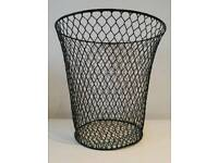 Perforated basket bin