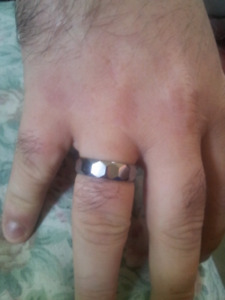 Tungstone ring. Unbreakable.