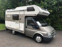 2002 FORD TRANSIT 280 SWB P/V 2.0 TD BESPOKE HYMER conversion Motor Caravan