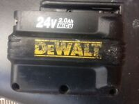 Dewalt sds 24v battries