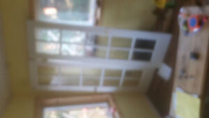 French doors, very good condition