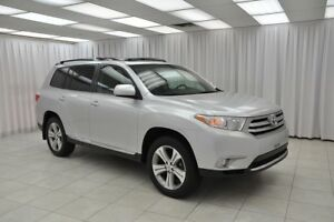 2013 Toyota Highlander 3.5L 7PASS 4x4 SUV w/ BLUETOOTH, HEATED S