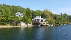 Dream Property on McGregor Lake with Four Cottages