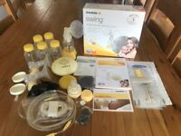 Medela Swing Electrical Breast Pump Plus Many Extras