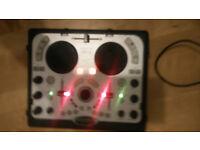 DJ Console Hercules multi channel USB soundcard DJ Mix controller goodcondition