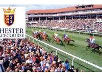 5 Chester races tickets worth £200 for £150 ono