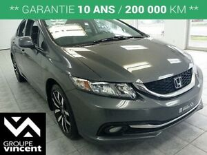2013 Honda Civic TOURING **GPS | CUIR  **