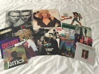 Early 90's Pop Vinyl Job Lot, 16 Records.