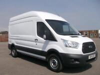 Ford Transit T350 LWB HIGH ROOF L3 H3 VAN 125PS DIESEL MANUAL WHITE (2014)