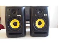KRK Rokit 5 monitor speakers x 2 in excellent condition