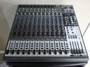 New Behringer HENYX2442FX 10 mic channel mixer