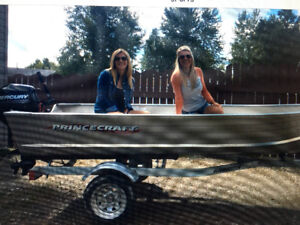 Brand new boat,motor and trailer for sale.