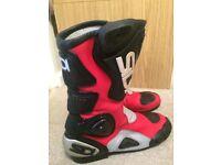 Mens SIDI motorbike/motorcycle Boots EUR 44, UK Size 9.5