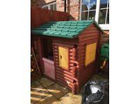 Little tikes log house