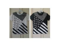 Boys tshirt size 2 and 6 years