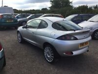 FORD PUMA SPORTS COUPE IN VGC LOVELY DRIVING SPORTY HATCH LEATHER INTERIOR ALLOYS CD WHITE DIALS