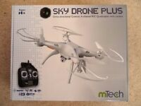 NEW~SKY DRONE PLUS Omni-Directional Control, 4CH R/C QUADCOPTER & CAMERA