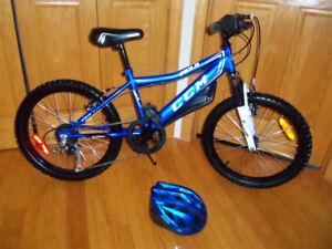 Bicyclette 20 pouces CCM avec casques inclus Vélo impeccables
