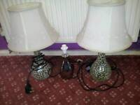 3 lamps free to collect