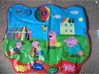 Peppa pig activity mat
