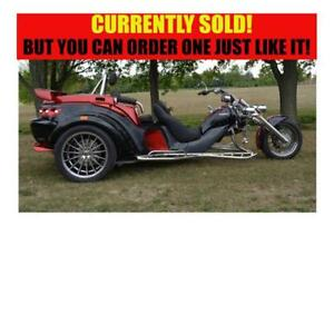 2017 REWACO RF2 GT TOURBACK TURBO AUTOMATIC TRIKE - SOLD!!