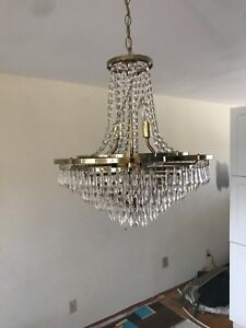 Chrystal Chandeliers 2 different sizes