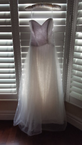 Wedding Dress For Sale-Worn Once (Petite) Size 2