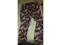 Summer pants 6-7 girls