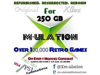 Refurbished Original XBOX☆250 GIG HDD