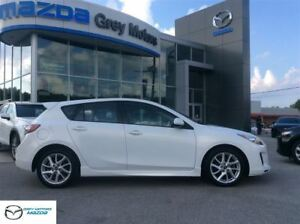 2013 Mazda MAZDA3 GT, NAVIGATION, LEATHER, SUNROOF!
