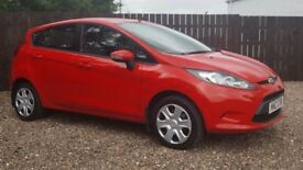 2009 FORD FIESTA 1.25 STYLE