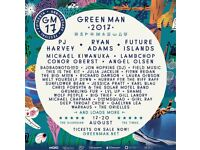 1 x ADULT GREENMAN TICKET FOR SALE